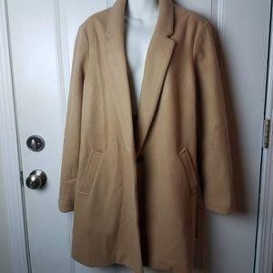 Women's Old Navy Size XL Camel Coat